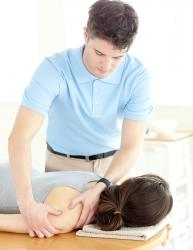 physical therapy chiropractor patient
